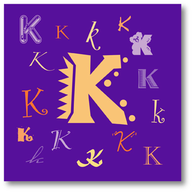 K words killed me this week peripheral perceptions the letter k sciox Images