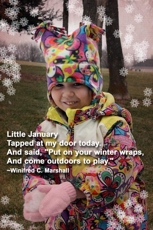 January Peanut quotography