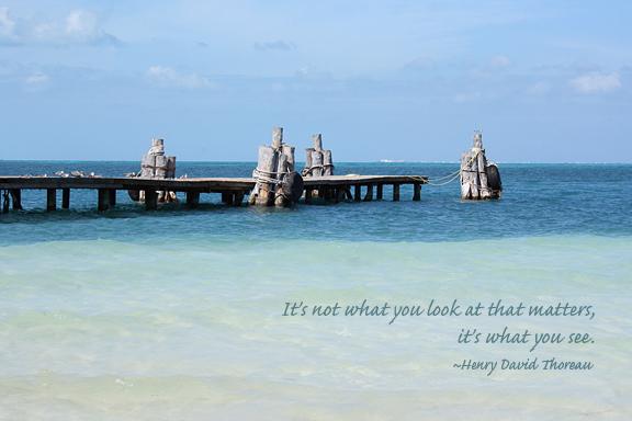 Cancun old pier WWW