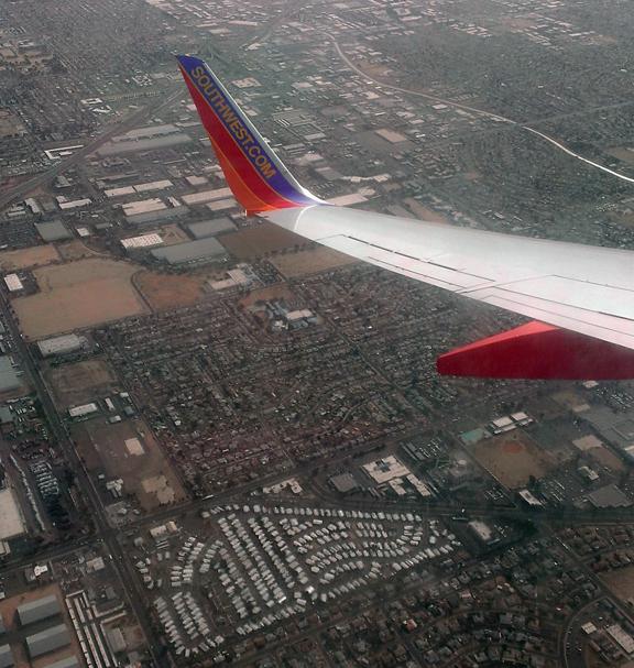 Phoenix plane view