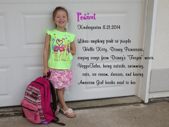 Kindergarten Peanut stats