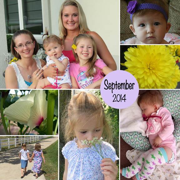 September 2014 collage