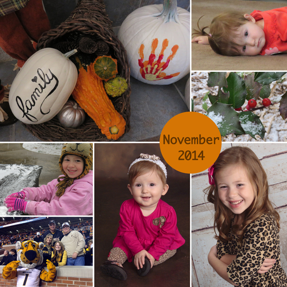 November 2014 collage