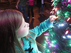peanut magic tree lights