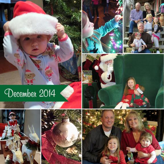 December 2014 collage