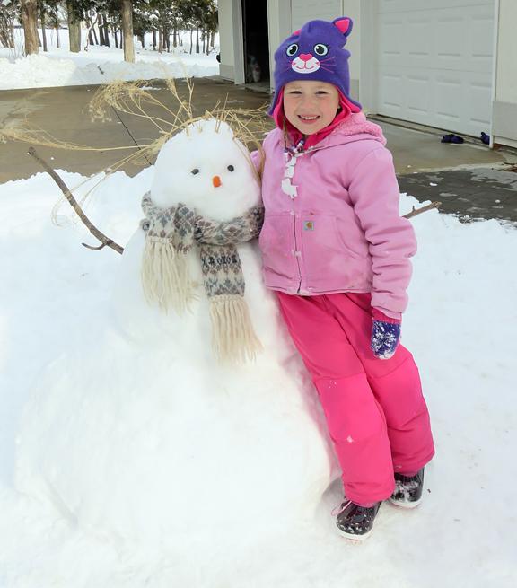 two snowbabies
