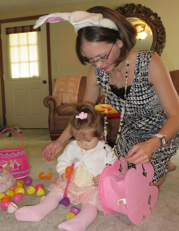twix Easter basket