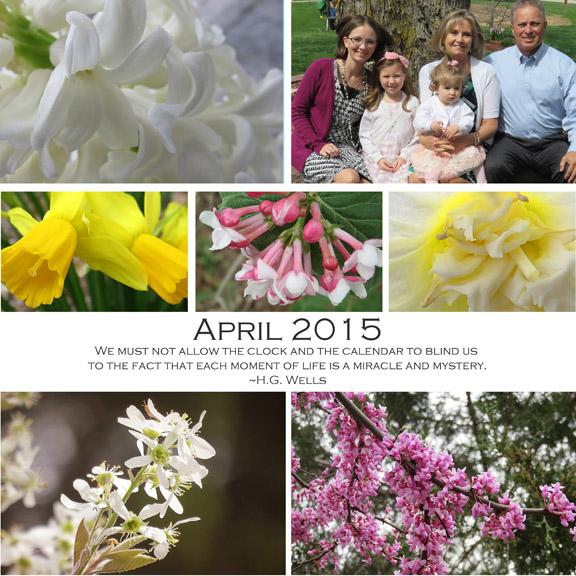 April 2015 collage