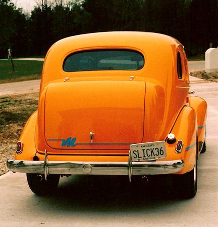 Slick 36 Pontiac back-blog