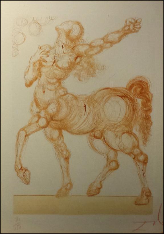Dali-le Centaure