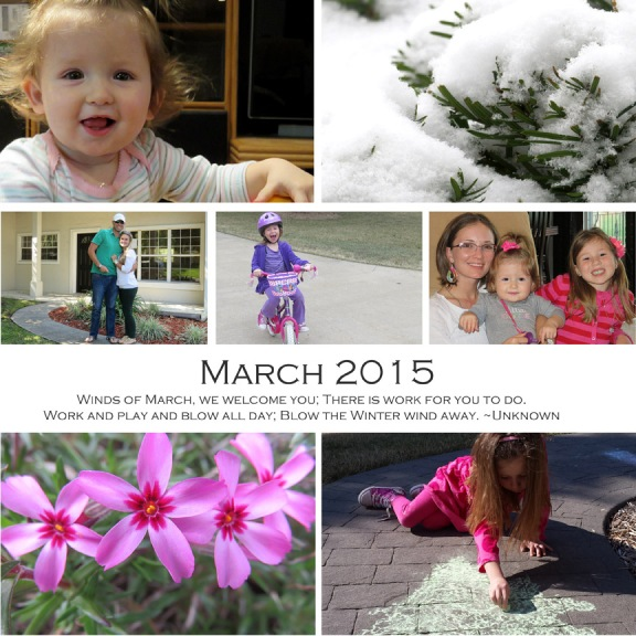 March 2015 collage